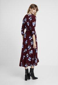 Great Plains London - ROCHELLE FLOWER - Day dress - cabernet combo - 3