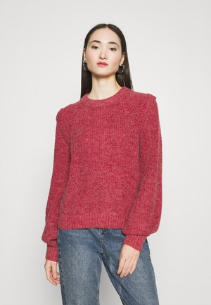 SANDRA - Strikpullover /Striktrøjer - blood red