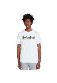 Timberland - Print T-shirt - white - 0