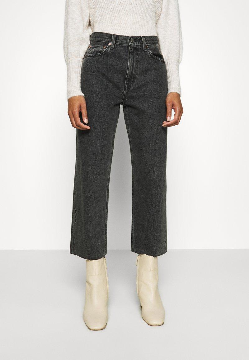 Ética - TYLER - Straight leg jeans - smokey mountain