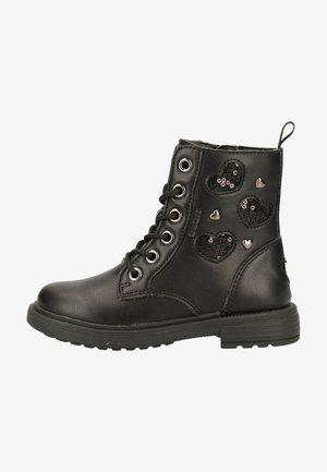 Lace-up ankle boots - schwarz c9999