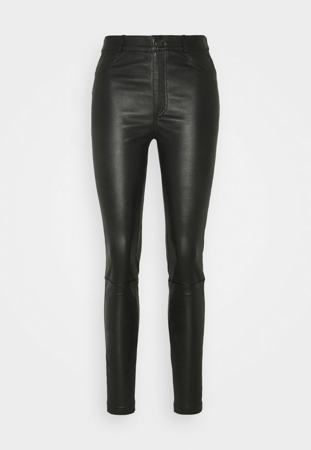 YASZEBA POCKET - Leggings - Trousers - black