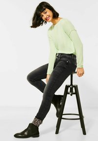 Street One - Slim fit jeans - schwarz - 2