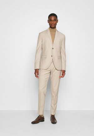PLAIN LIGHT SUIT - Traje - light brown