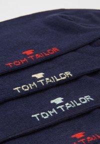TOM TAILOR - SHORTSNEAKER HIDDEN COLOR  6  PACK - Socks - dark blue - 2