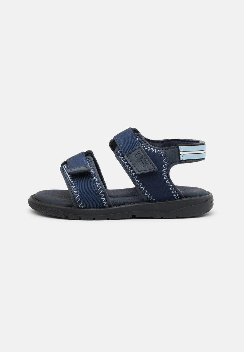 BOSS Kidswear - LIGHT - Sandals - navy