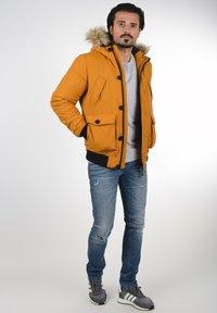 Solid - Winter jacket - sudan brown - 1