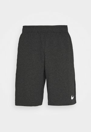 DRY FIT - kurze Sporthose - black heather