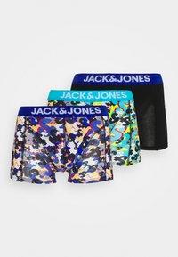 Jack & Jones - JACAND TRUNKS 3 PACK - Shorty - black/bonnie blue/surf the web - 4