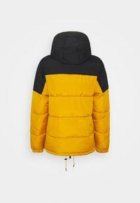Fila - ESCURCIONE PUFFED JACKET - Winter jacket - nugget gold/black - 1