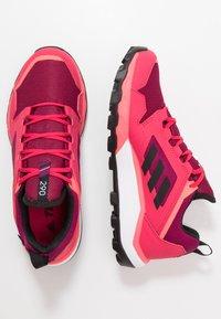 adidas Performance - TERREX AGRAVIC TR GTX - Trail running shoes - power pink/core black/footwear white - 0