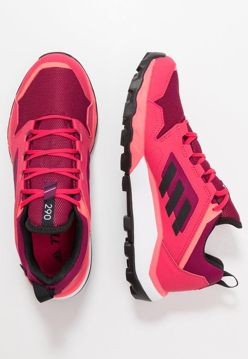 adidas Performance - TERREX AGRAVIC TR GTX - Trail running shoes - power pink/core black/footwear white