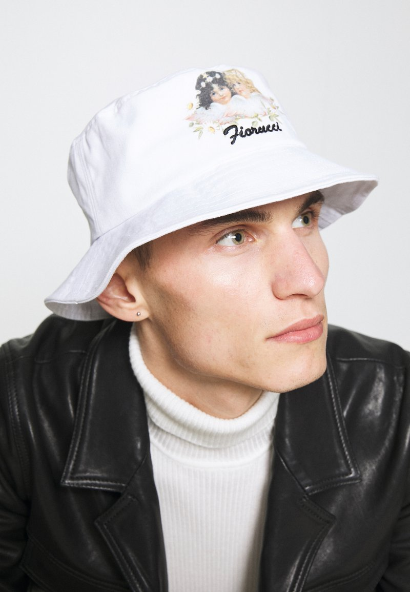 Fiorucci - DAISY BUCKET HAT UNISEX - Hat - white