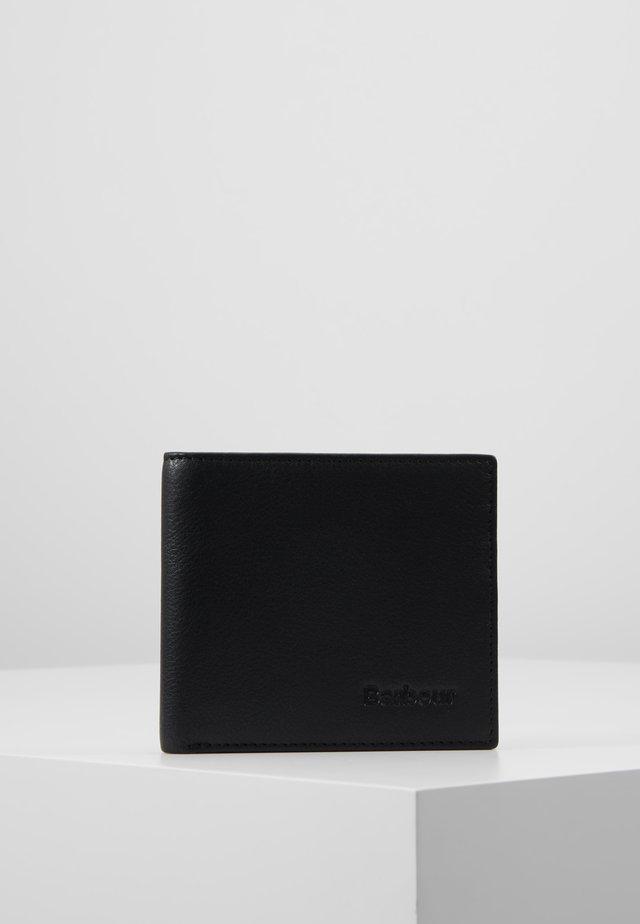 BILLFOLD WALLET - Wallet - black/merlot/shadow
