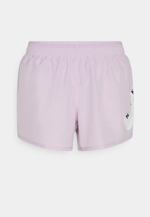 RUN SHORT - Sports shorts - iced lilac/white