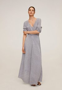 Mango - ZAFIRO-A - Maxi dress - silber - 0