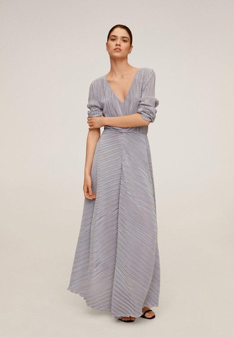 Mango - ZAFIRO-A - Maxi dress - silber