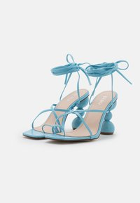 BEBO - CLAUDIA - T-bar sandals - blue - 2