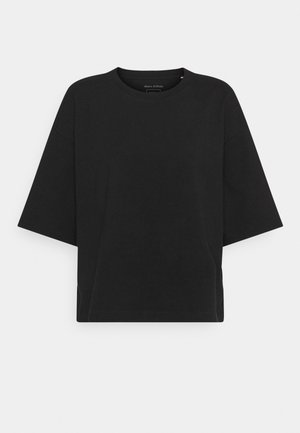 SHORT SLEEVE ROUND NECK - T-shirt basique - black