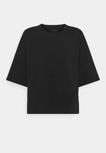 SHORT SLEEVE ROUND NECK - Basic T-shirt - black