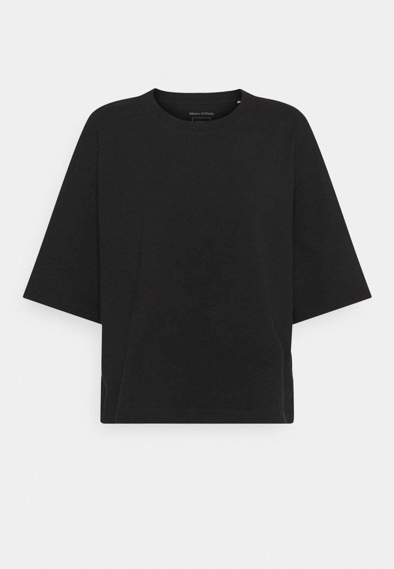 Marc O'Polo - SHORT SLEEVE ROUND NECK - T-shirt basique - black