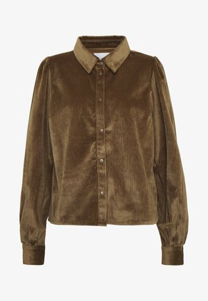 TOVA SHIRT - Blouse - dried tabacco