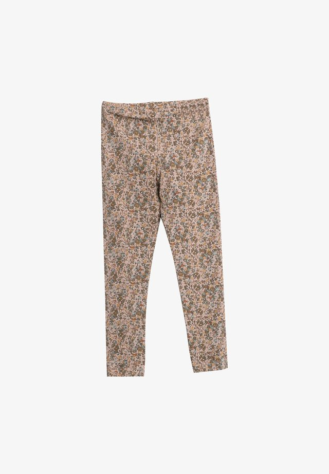 Leggings - Trousers - fawn flowers