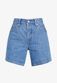 Levi's® - 501® SHORT LONG - Jeans Short / cowboy shorts - montgomery stonewash short - 4
