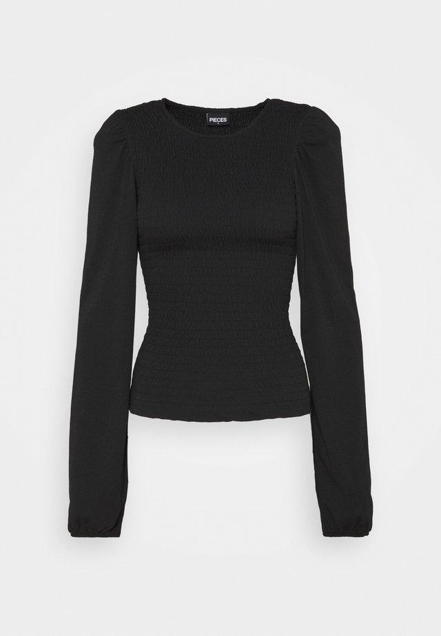PCTINNA - Pitkähihainen paita - black