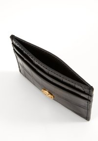 Tory Burch - ROBINSON EMBOSSED CARD CASE - Peněženka - black - 2