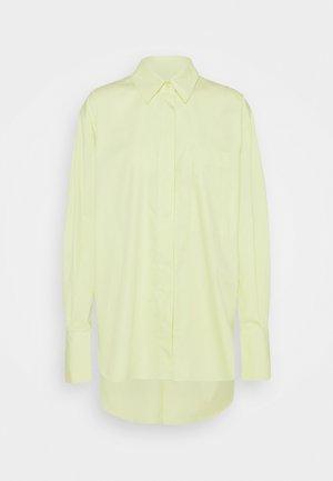 LYLA - Button-down blouse - lime yellow