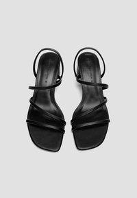 PULL&BEAR - Sandaler - black - 2