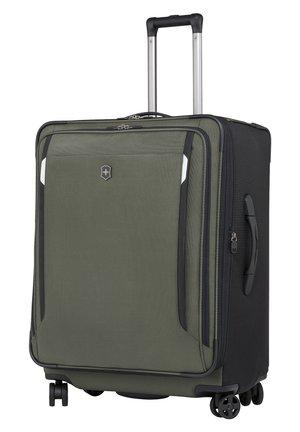 Wheeled suitcase - olive green