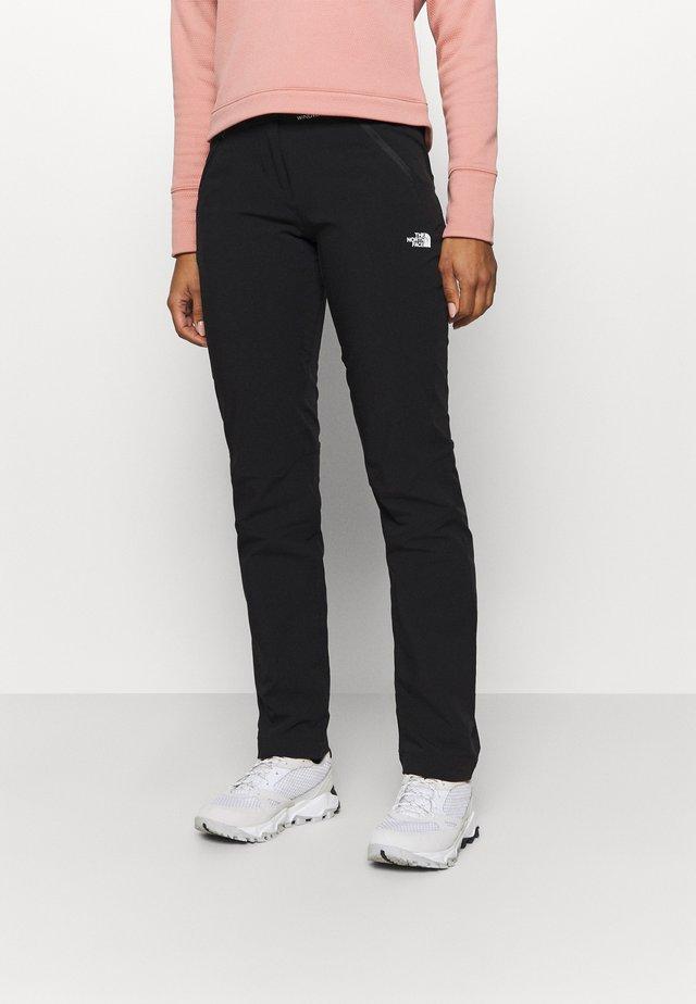 DIABLO PANT - Outdoorové kalhoty - black