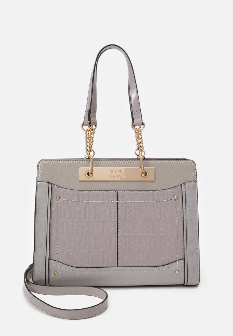 River Island - Tote bag - grey light