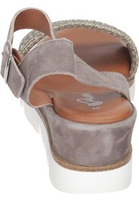 Piazza - Wedge sandals - taupe - 2