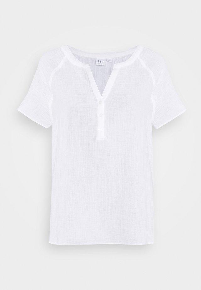 GAUZY  - Bluzka - optic white
