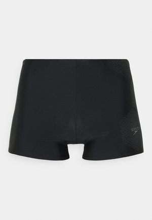 TECH LOGO ASHT AM - Swimming trunks - tech black/ardesia