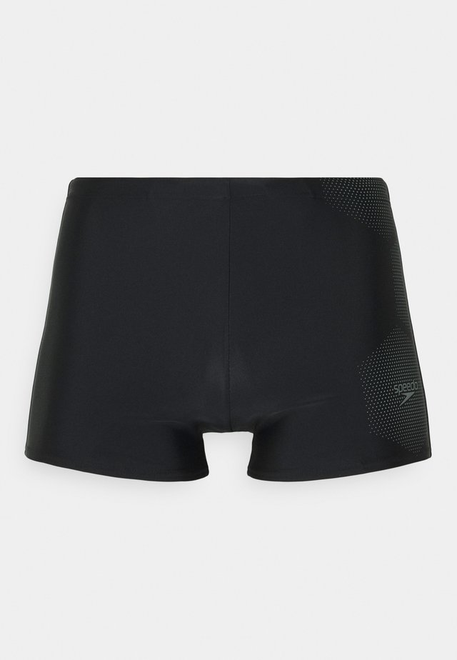 TECH LOGO ASHT AM - Badeshorts - tech black/ardesia