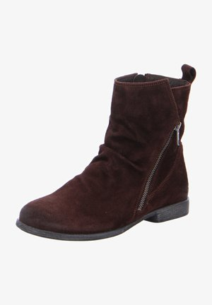 AGRAT - Classic ankle boots - mocca