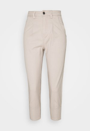 OBJROXANE ANKLE  - Trousers - silver gray