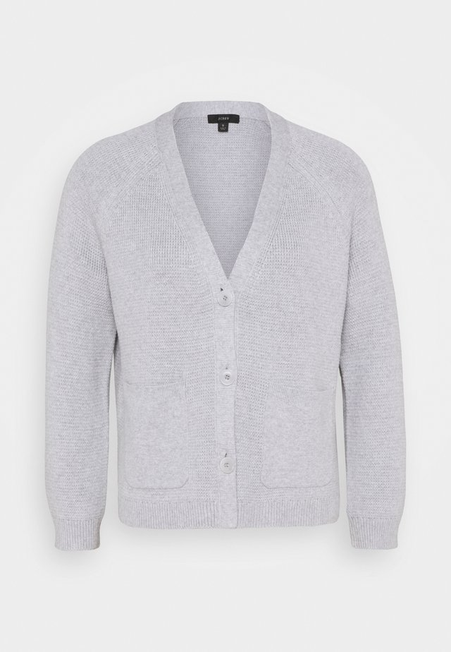 MILANO  - Strickjacke - heather light grey