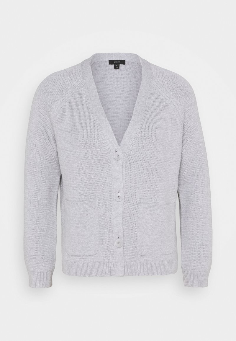 J.CREW - MILANO  - Kardigan - heather light grey