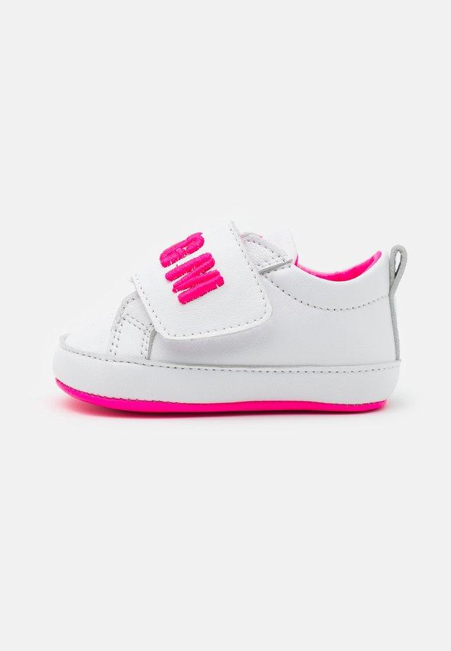 Babyschoenen - white/pink