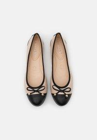 Caprice - Ballet pumps - beige/black - 5