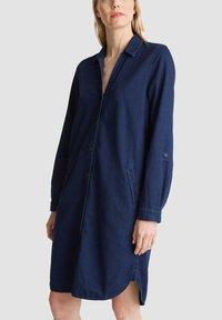 Esprit - Shirt dress - blue dark wash - 5