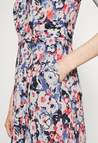 Lauren Ralph Lauren - ELNA SLEEVELESS DAY DRESS - Day dress - light navy/pink/multi - 4