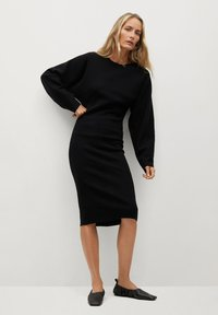 Mango - Shift dress - noir - 1