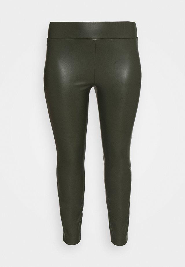 LOOK - Leggings - Trousers - dark rosin green