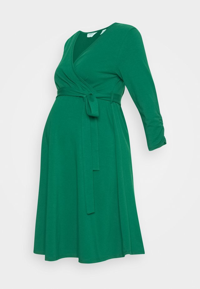MATERNITY DRESS - Jerseykjoler - green